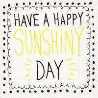 Napkins 25x25 cm - Sunshiny day