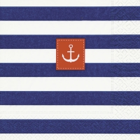 Napkins 25x25 cm - Sailor stripes