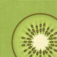 Napkins 25x25 cm - kiwi