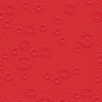 Cocktail napkins Moments uni red