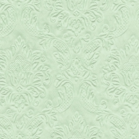 Cocktail Servietten Moments Ornament pale green