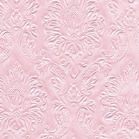 Cocktail Servietten Moments Ornament soft pink