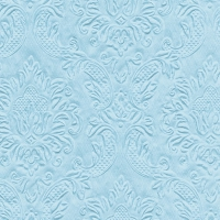 Cocktail Servietten Moments Ornament pastel blue