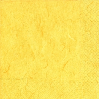 Cocktail napkins Pure yellow
