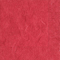 Cocktail napkins Pure red