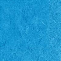 Servietten 25x25 cm - Reines Hellblau