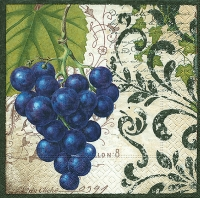Lunch napkins Bunch of grapes
