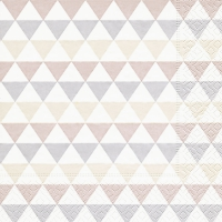 Lunch Servietten Triangle pattern