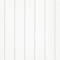Lunch napkins Home white/ beige