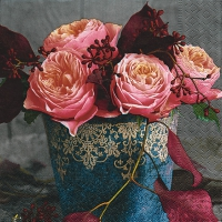 Lunch napkins Roses of autumn