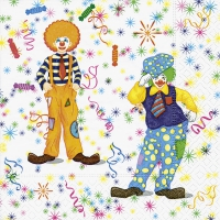 Lunch napkins Clowns