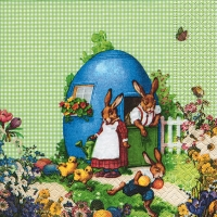 Lunch napkins Easter Idyll