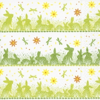 Lunch napkins Bunny meadow