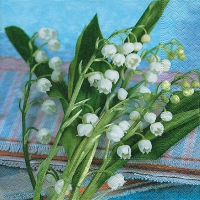 Lunch napkins Lily of the valley