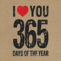 Lunch Servietten 365 days