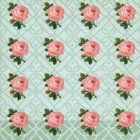 Lunch napkins Small vintage roses