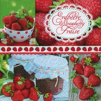 Lunch napkins Strawberrytime