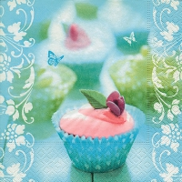 Serviettes lunch Sweet cupcake