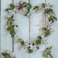 Lunch Servietten Blossom heart
