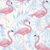 Lunch Servietten Flamingo garden