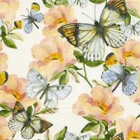 Lunch Servietten Jardin de papillons