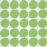 Lunch Servietten Big dots green