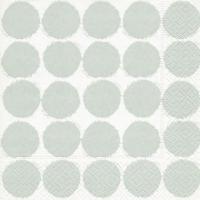Lunch Servietten Big dots grey