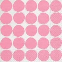 Lunch Servietten Big dots pink