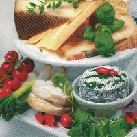 Lunch Servietten Cheese selection