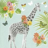 Lunch Servietten Giraffe garden