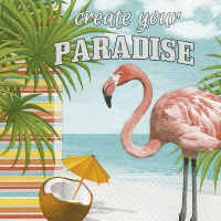 Napkins 33x33 cm - Create your paradise
