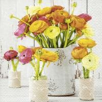 Napkins 33x33 cm - Ranunculus