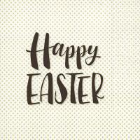 Napkins 33x33 cm - Happy Easter