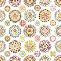 Servietten 33x33 cm - Farbenfrohe Rosetten