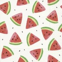 Napkins 33x33 cm - Melon pieces