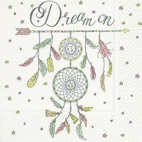Serviettes de table 33x33 cm - Dream On
