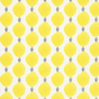 Napkins 33x33 cm - Citrus dots