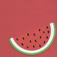 Serwetki 33x33 cm - melon