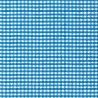 Lunch Servietten Vichy  blue