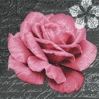 Lunch Servietten Rose of love