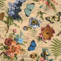 Lunch napkins Vintage summer