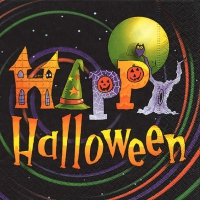 Lunch napkins Happy Halloween