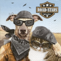 Serviettes lunch Road-stars