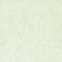 Serviettes de table 33x33 cm - Vert pâle pur