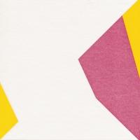 Dinner napkins Origami Schmetterling pink/blau/gelb