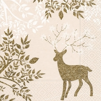 Lunch napkins Golden bambi