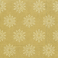 Lunch napkins Starry gold