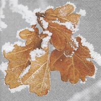 Lunch napkins Frozen leaves
