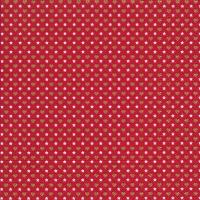 Servietten 33x33 cm - Mini-Muster rot