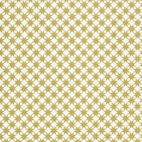Servilletas Lunch Star pattern gold